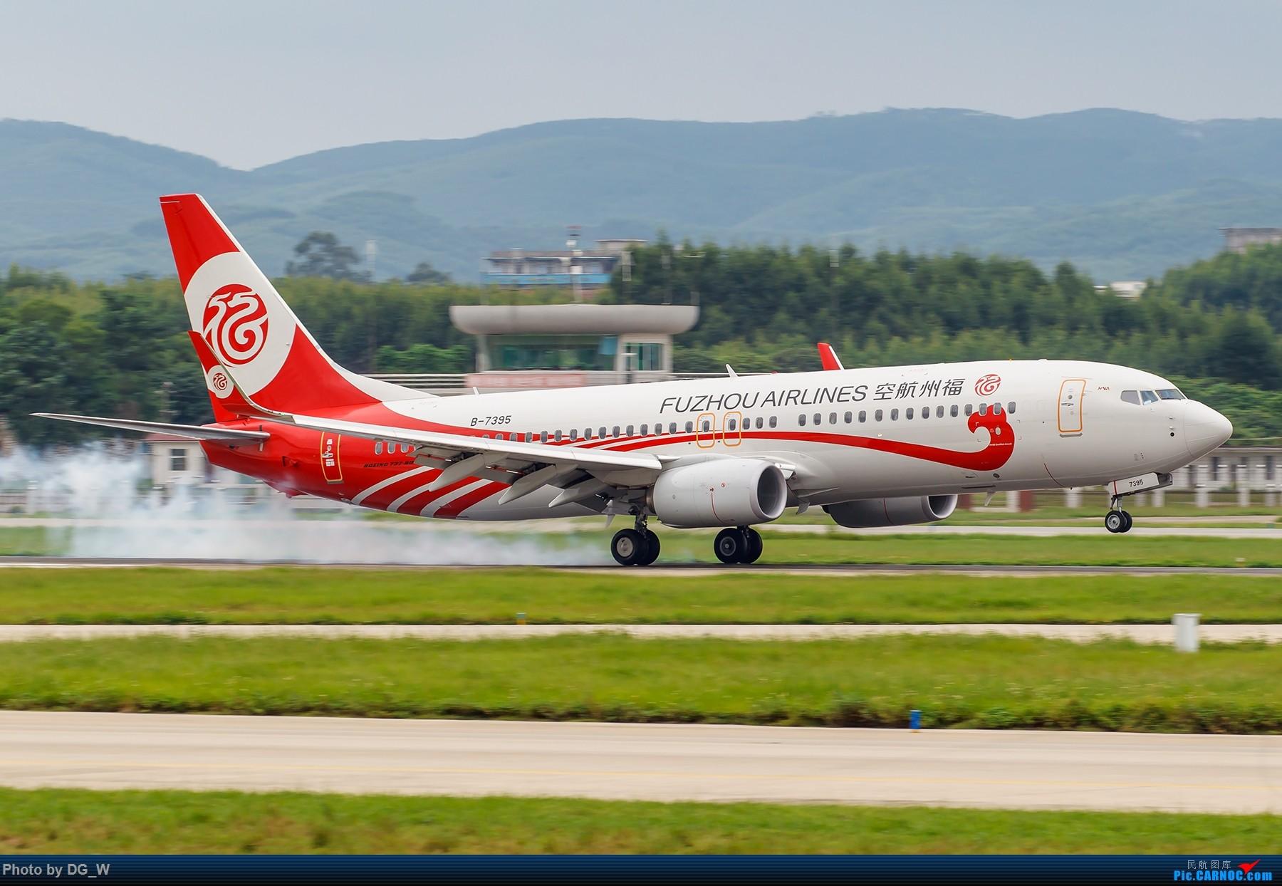 Boeing-737-800-Fuzhou-Airlines