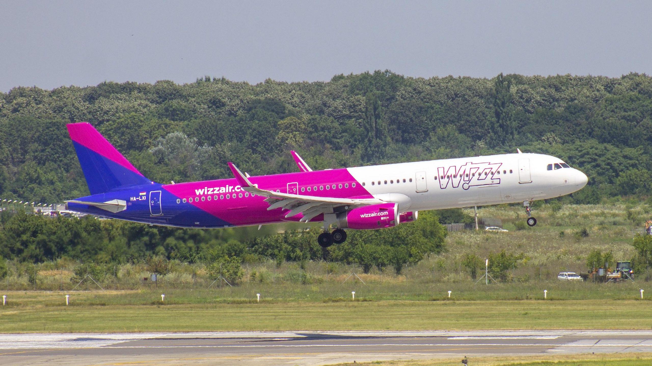 Zborurile Wizz Air operate din Bucuresti