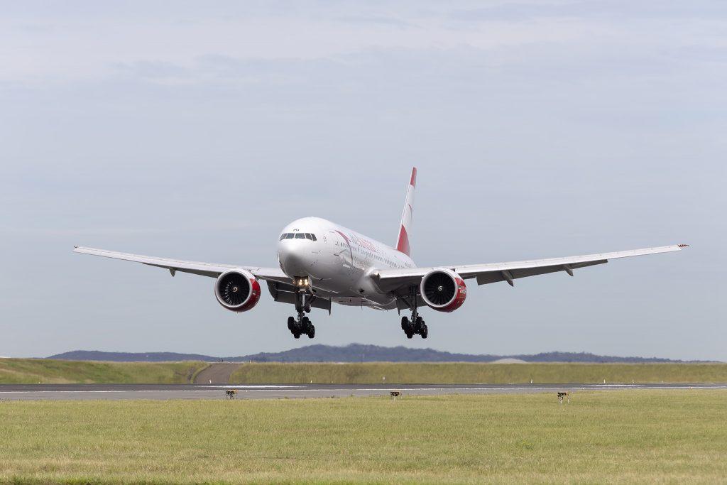 Austrian Airlines a operat zborul Viena – Sydney