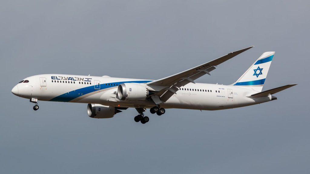 EL AL a operat primul zbor comercial intre Israel si Australia